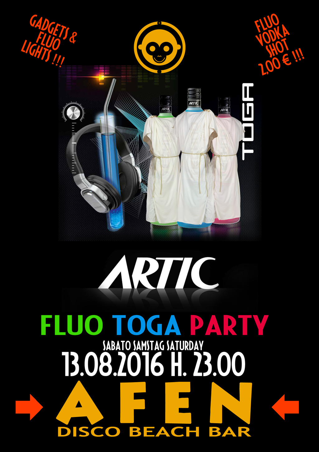 artic fluo party 2016 togag