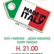 made in italy 2017 ycp