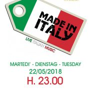 made in italy 2018 ycp ore 23