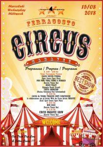 locandina circo